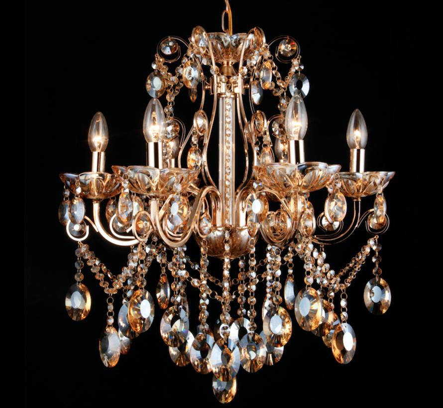 Sierlijke serie kroonluchters en wandlampen voor een stijlvolle totaal-look