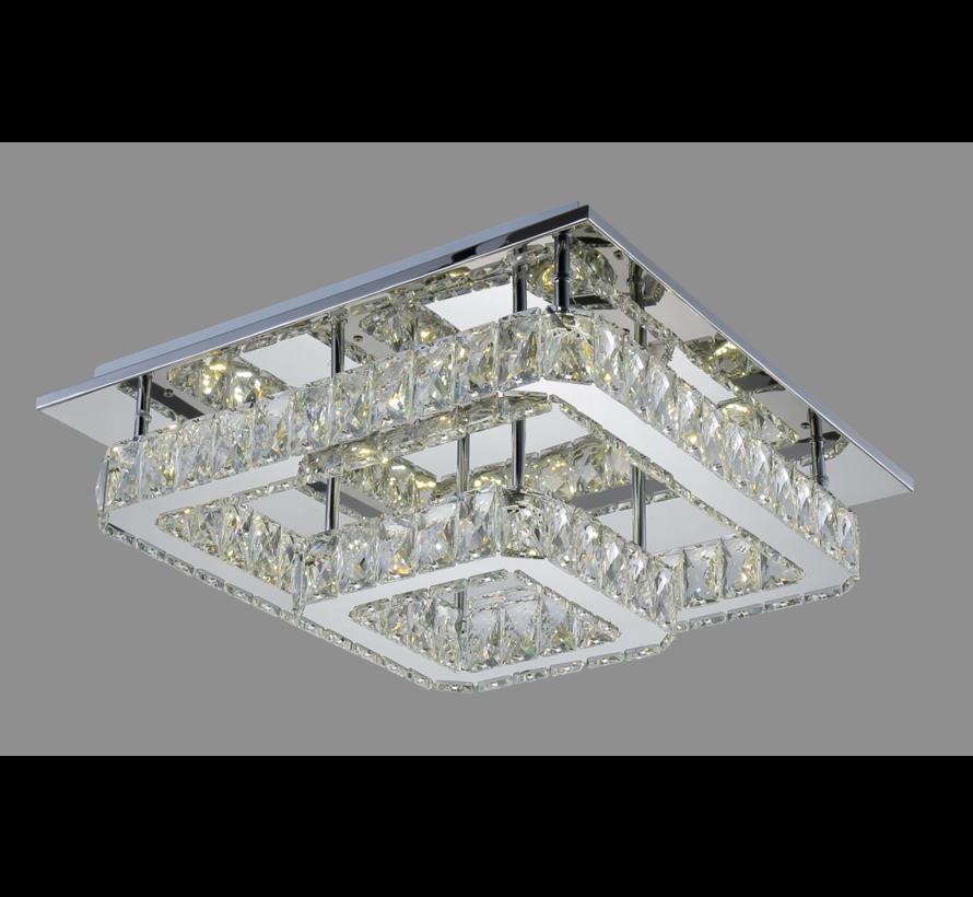 Plafondlamp Aban - 45 x 45 cm - Dimbaar LED licht