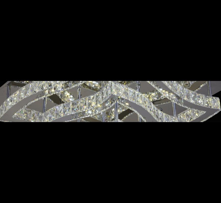 Plafondlamp Amir - 60 x 60 cm - verstelbaar LED licht