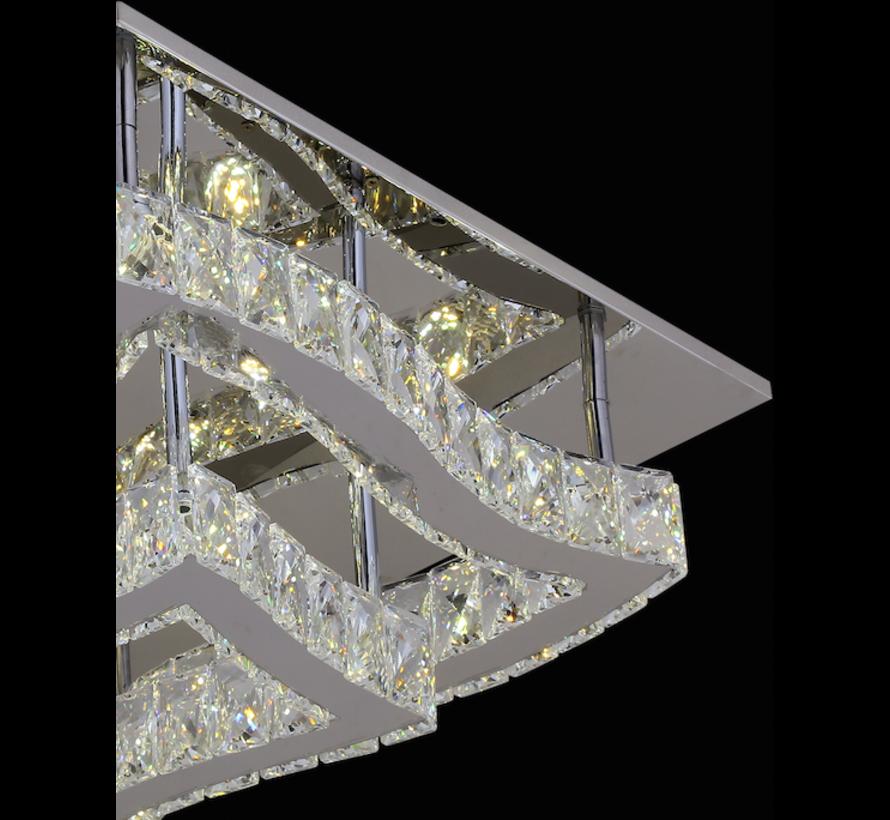 Plafondlamp Amir - 45 x 45 cm - verstelbaar LED licht
