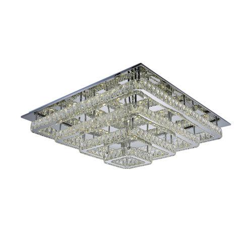 Plafondlamp Aban - 90 x 90 cm - Dimbaar LED licht