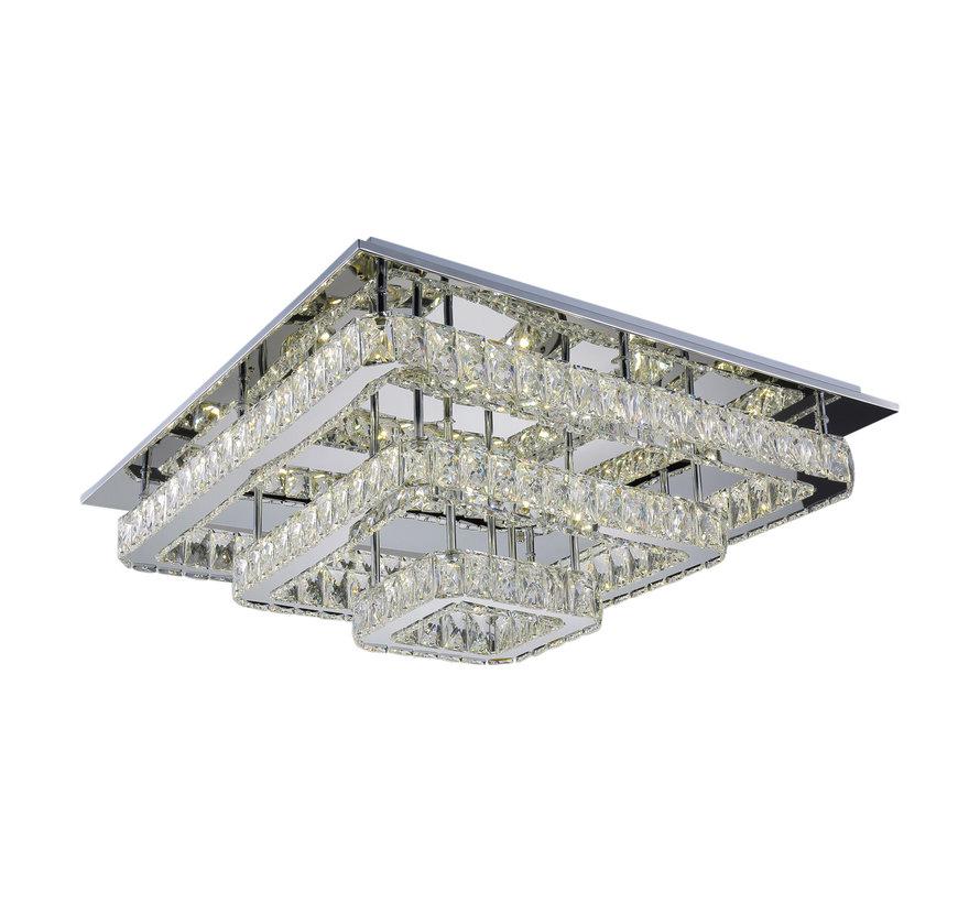 Plafondlamp Aban - 60 x 60 cm - Dimbaar LED licht