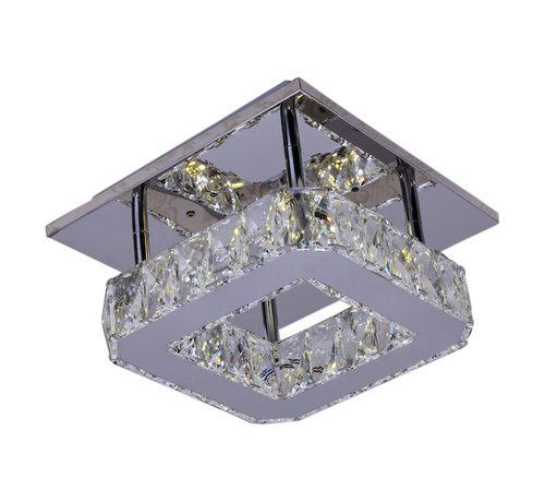 Plafondlamp Alim - Vierkant - verstelbaar LED licht