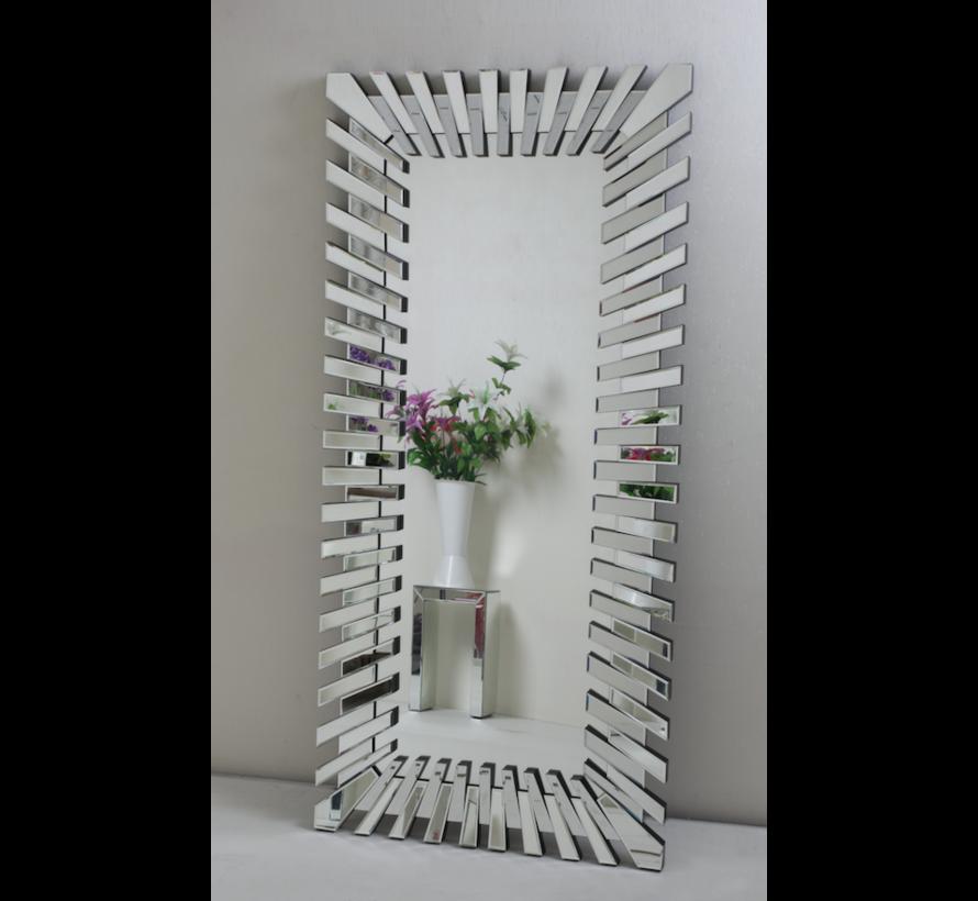 Piano Spiegel - Rechthoekig - 80 x 150 cm - Spiegelglas