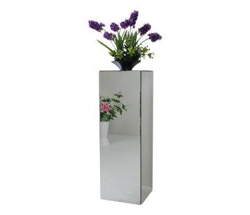 Sokkel - Zuil Spiegelglas 30 x 90 cm