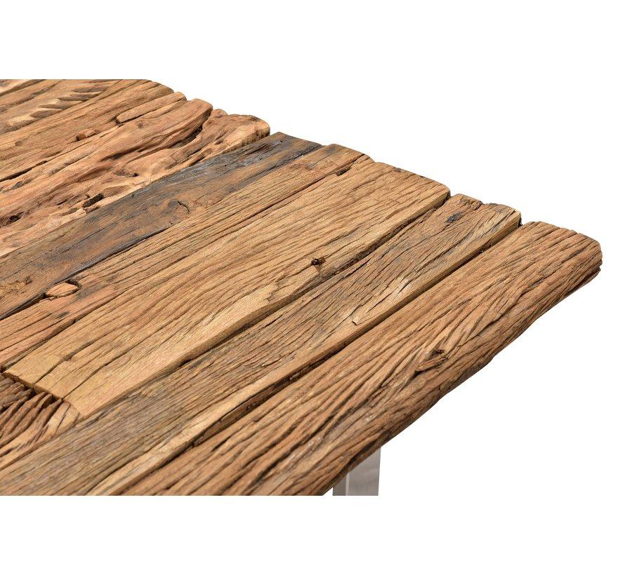 Eettafel Rixos Zilver Sleeper Wood 160 x 90 cm