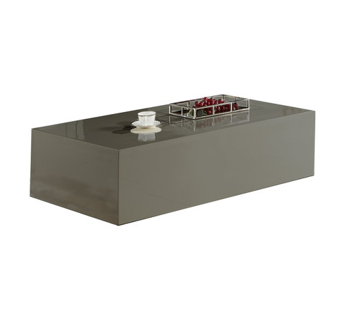 Salontafel Blocci Blokvormig Grijs 130 x 70 CM