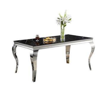 Eettafel Polo Zwart Marmer