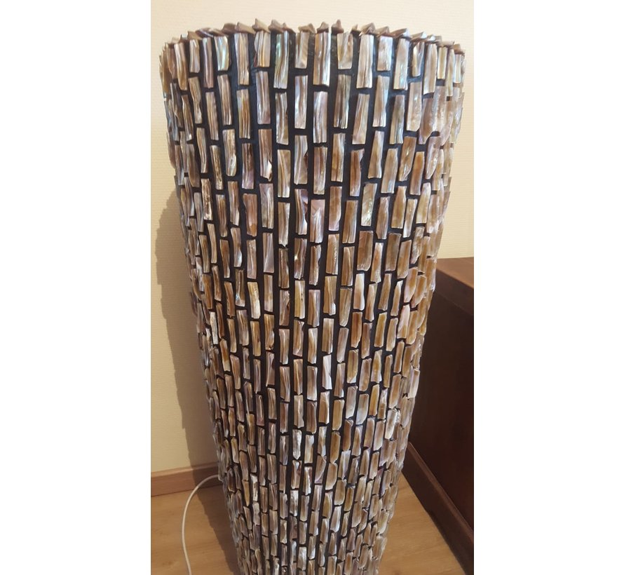 Schelpvaas Groot 120 cm - Eric Kuster Style