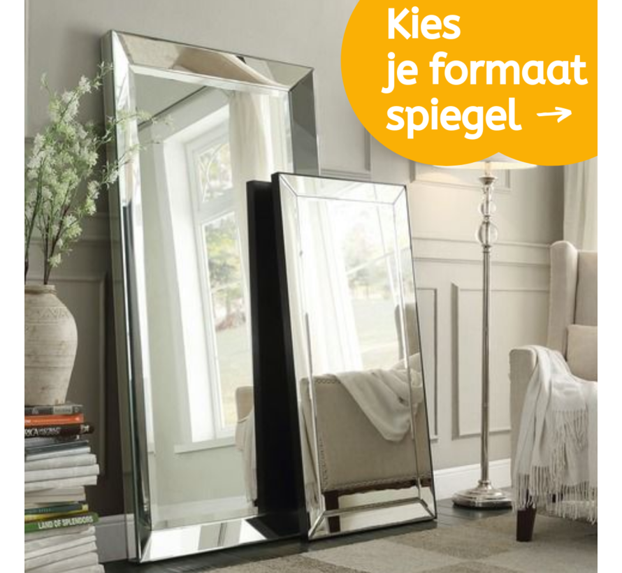 Spiegel Eric Kuster Stijl - Kies je spiegel formaat