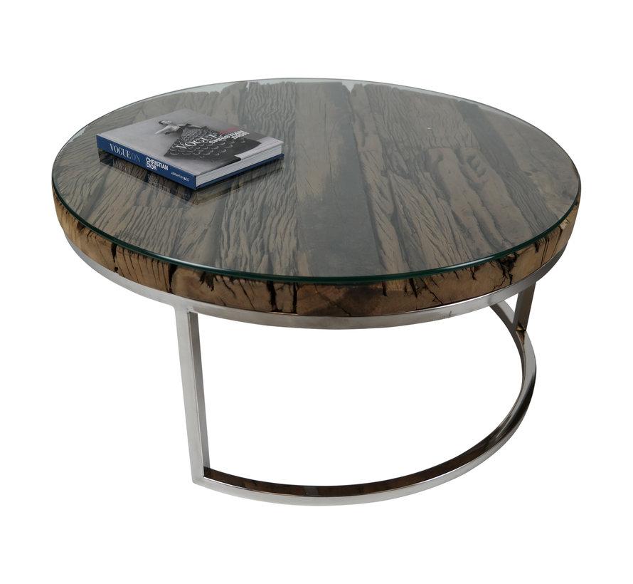 Salontafel Sleeper Wood set van 2 rond