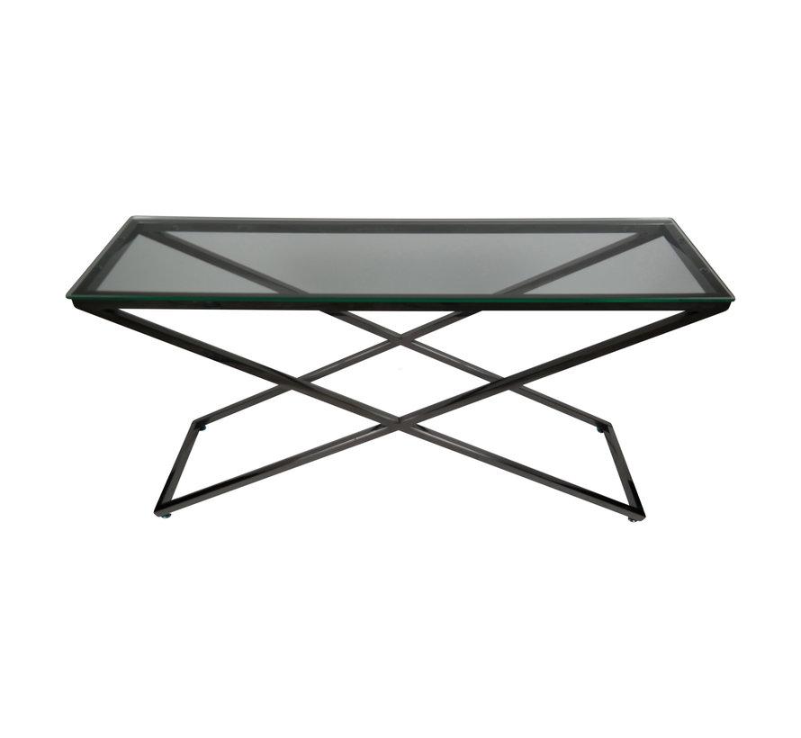 Sidetable Rixos Helder Glas 140 x 75 cm