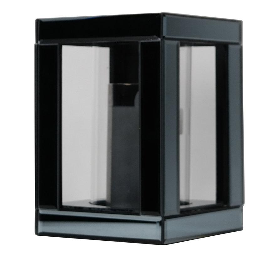 Waxinelichthouder Glas Antraciet - Eric Kuster Stijl