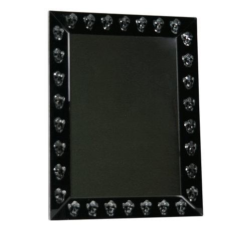 Spiegel met Doodskoppen -  Skeleton head - 80 x 120 cm