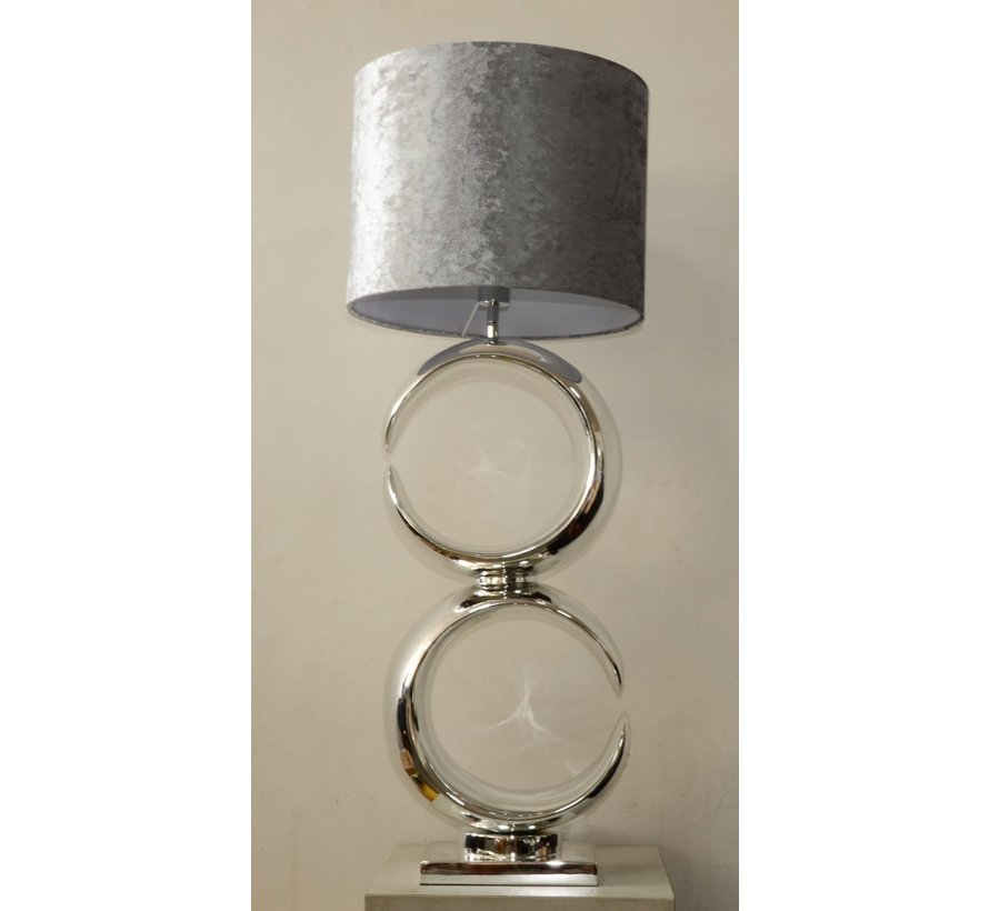Moon - Zilver - Tafellamp - 2 - Eric Kuster Style