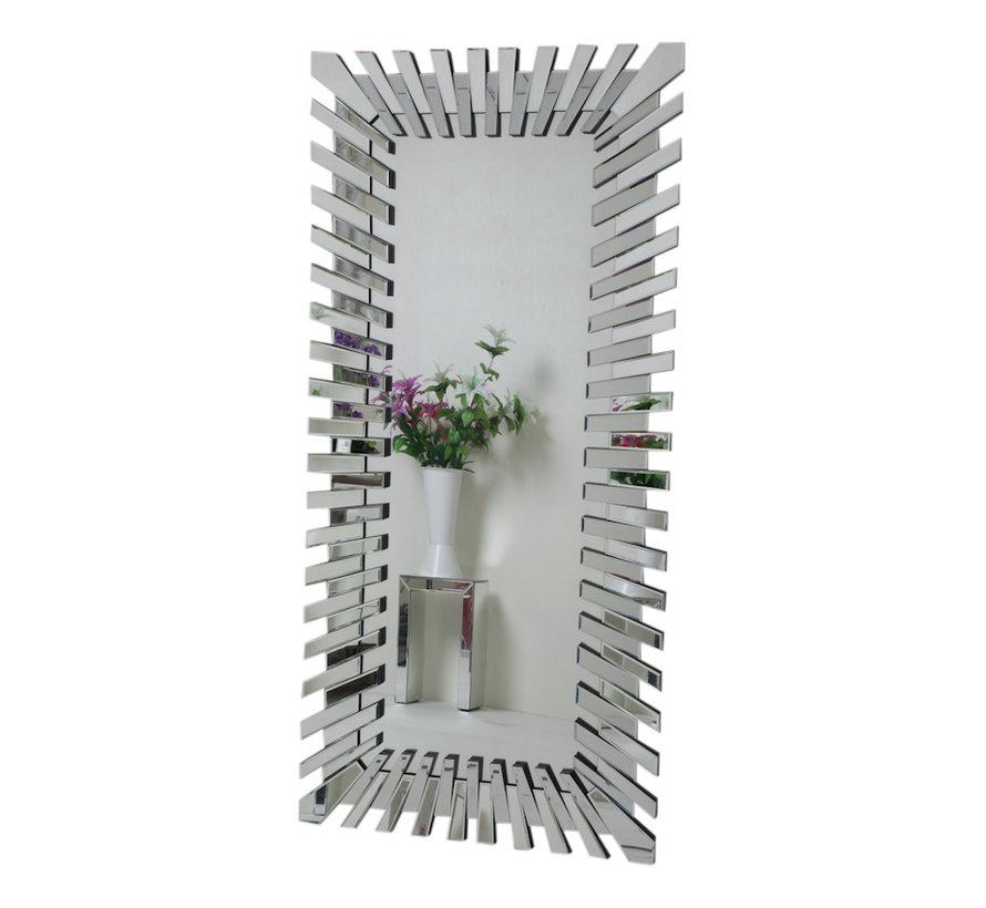 Piano Spiegel - Rechthoekig - 80 x 120 cm - Spiegelglas
