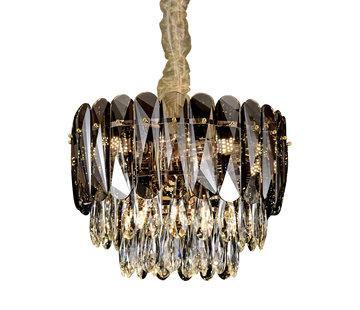 Hanglamp Emilio klein Ø 50 cm - Dark Brown