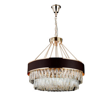 Hanglamp Alonzo - Brown Gold / Clear