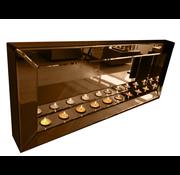 Sfeerhaard Brons - 9 waxinelichtjes - Eric Kuster Stijl