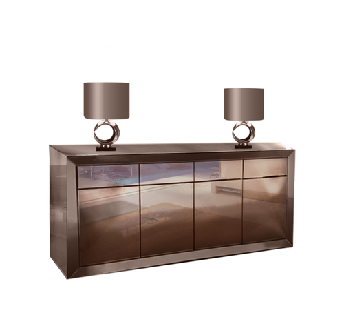 Dressoir Lyon Spiegelglas - Sepia