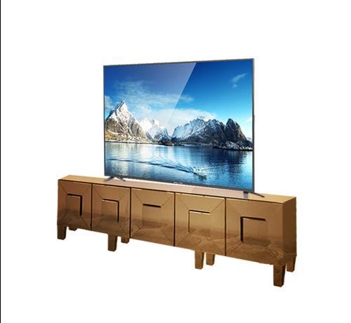Tv-meubel Madrid Spiegelglas - Sepia