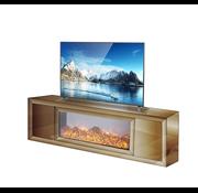 Tv-meubel Oslo Spiegelglas - Brons