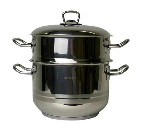 Couscous pan / stoompan 6 liter - Hascevher