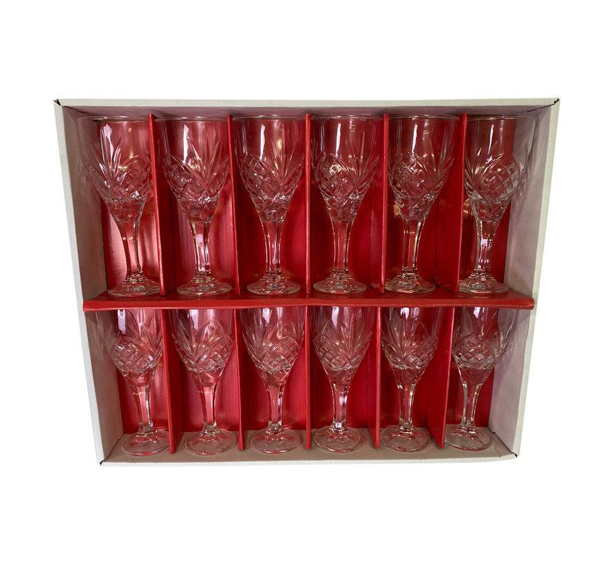 Jus d'orange glazen Juicy - 12 stuks