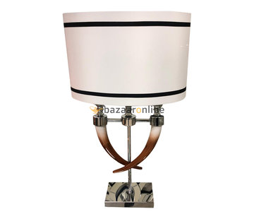 Tafellamp Hoorn - Bruin
