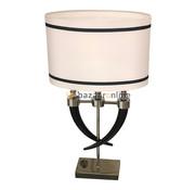Tafellamp Hoorn - Zwart