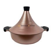 Tajine pan  - Brons - Keramisch - anti-aanbaklaag