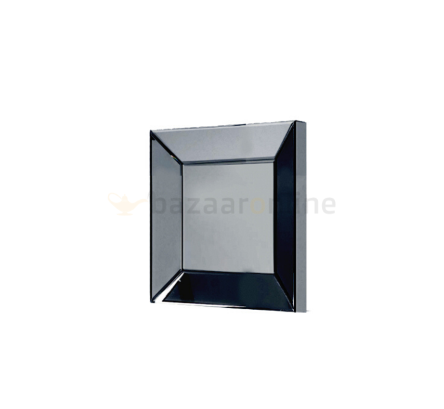Spiegel Antraciet 40 x 40 cm