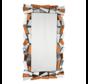 Cobra Brons Spiegel - Rechthoekig - 80 x 140 cm - Spiegelglas