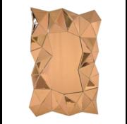 Carmen Brons Spiegel - Rechthoekig - 80 x 120 cm - Spiegelglas