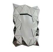 Carmen Antraciet Spiegel - Rechthoekig - 80 x 120 cm - Spiegelglas
