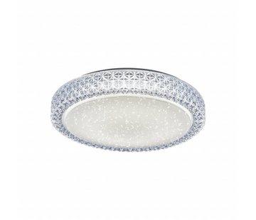 Plafondlamp Starr - rond - 28 cm