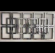 Orlinski Spiegel - Rechthoekig - 80 x 160 cm - Spiegelglas