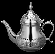 Marokkaanse Theepot Nador 1.6 Liter Zilver - Roestvrij staal