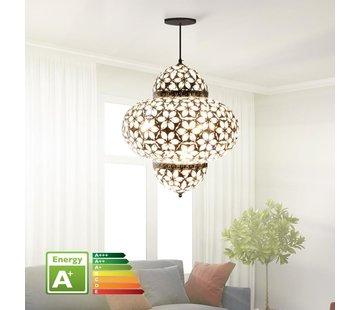 Hanglamp Marrakech Goud - Groot 45 cm - Oosterse hanglamp
