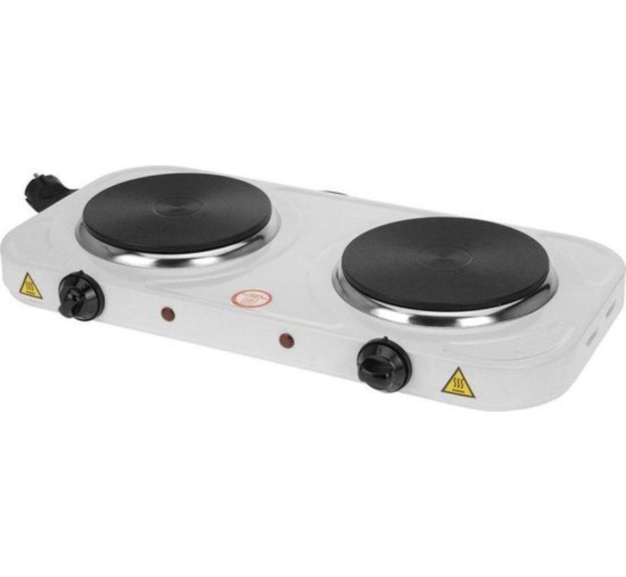 Dubbele Elektrische kookplaat 2 - pits