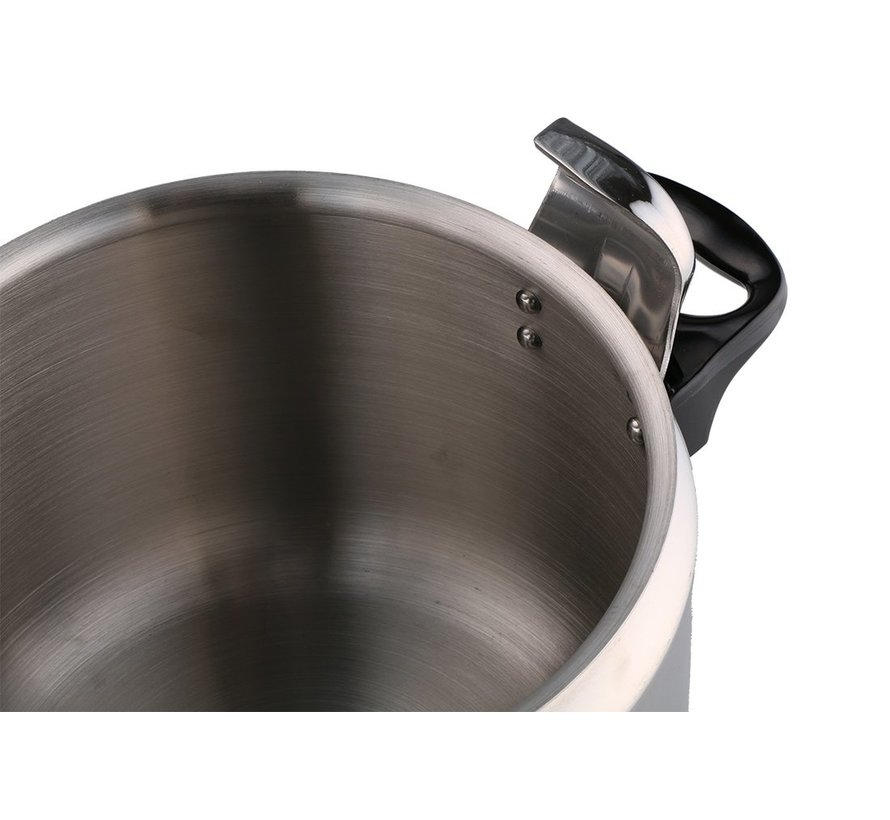 Bavary Snelkookpan 8 liter - INOX 18/10 - RVS