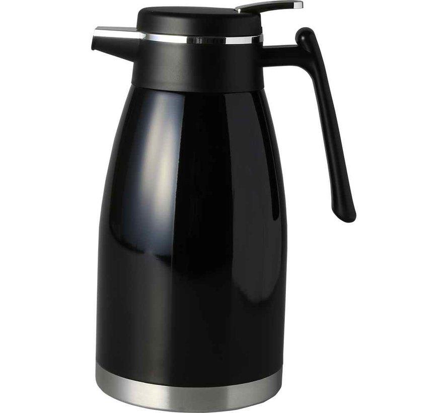 Thermoskan Bavary 2.0 liter Zwart