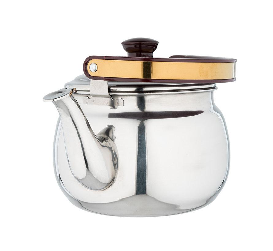 Fluitketel / Theeketel van RVS | Ø18cm | 3 Liter