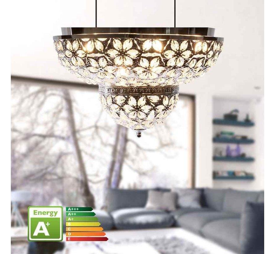 Plafondlamp Marrakech - Groot 45 cm -  Goud - Oosterse plafondlamp