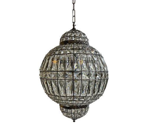 Hanglamp Casablanca  Zilver Ø 40 - Oosters hanglamp