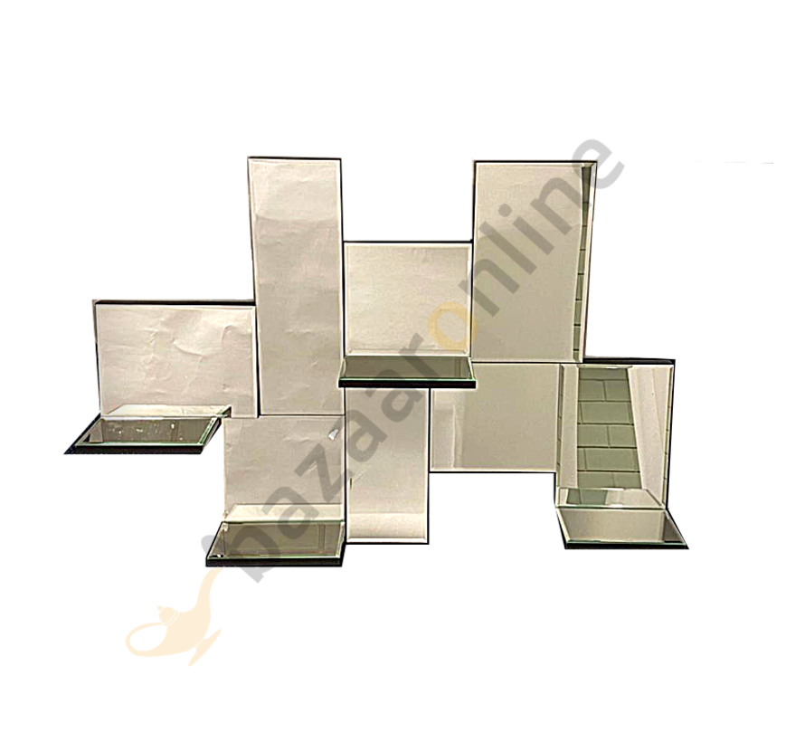Spiegel Perfume Casa - Rechthoekig - 100 x 70 cm - Spiegelglas