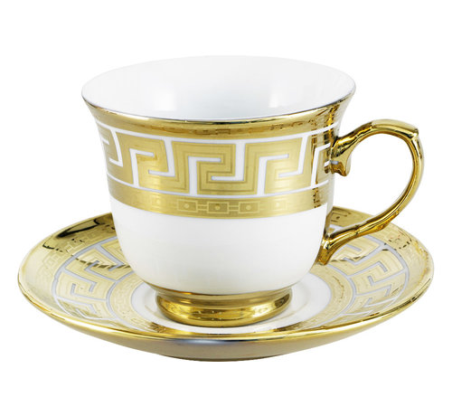 Koffieset - Cacy - Goud