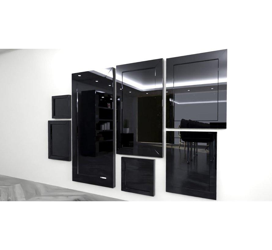 Spiegel Antraciet 70 x 130 cm