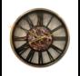 Klok Ferna - Zwart / Goud - 40 CM - Zwart Marmer