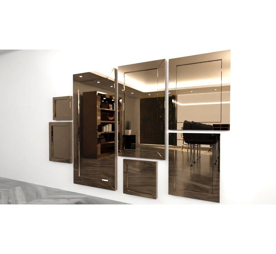 Spiegel Sepia 40 x 40 cm